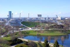 Estádio olímpico, Munich Foto de Stock