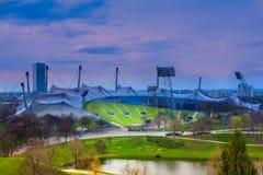Estádio olímpico Munich Foto de Stock