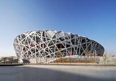 Estádio olímpico nacional de China Imagem de Stock
