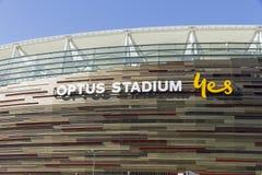 Estádio recentemente aberto de Optus em Perth Fotos de Stock