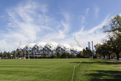 Estádio retangular de Melbourne Imagens de Stock Royalty Free