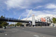 Estádio retangular de Melbourne Fotos de Stock Royalty Free