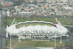 Estádio retangular de Melbourne, parque de AAMI Foto de Stock