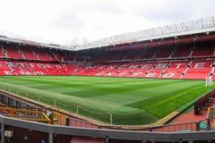 Estádio velho de Trafford fotos de stock