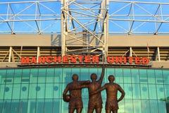 Estádio velho de Trafford Imagem de Stock