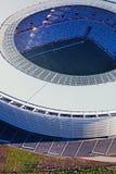 Estádio verde do ponto Cape Town aéreo imagem de stock royalty free