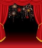 Estágio do Confetti Foto de Stock Royalty Free