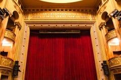 Estágio do teatro Imagem de Stock