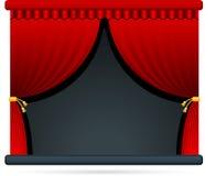 Estágio do teatro da película Fotografia de Stock