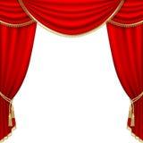 Estágio do teatro. Engranzamento. ilustração do vetor