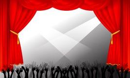 Estágio e audiência Foto de Stock Royalty Free