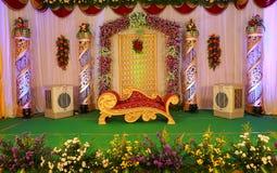 Estágio indiano do casamento imagens de stock royalty free