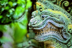 Estátua Ásia do Naga imagens de stock royalty free