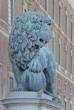 Estátua Éstocolmo do leão Imagens de Stock Royalty Free