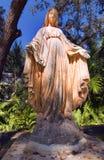 Estátua 2 da igreja Imagens de Stock Royalty Free