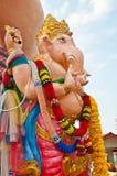 Estátua alaranjada do ganesha no parque de Siamganesh fotos de stock royalty free