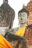 Estátua antiga da Buda Imagem de Stock Royalty Free