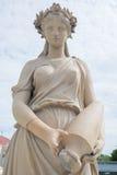 Estátua antiga da mulher Imagens de Stock
