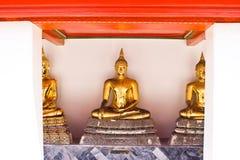 Estátua antiga de Buddha Fotos de Stock
