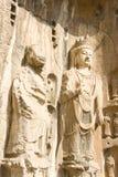 Estátua antiga de buddha Imagens de Stock