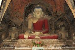 Estátua antiga de Buddha fotos de stock royalty free
