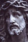 Estátua antiga de Jesus Christ imagem de stock