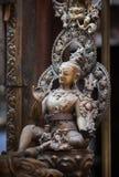 Estátua antiga de um bodhisattva de Avalokiteshvara Foto de Stock