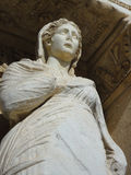 Estátua antiga do Arete foto de stock
