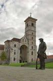 Estátua armada do soldado imagem de stock royalty free