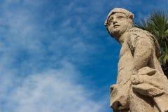 A estátua barroco Fotografia de Stock