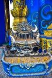 Estátua bonita da Buda no templo de Rong Sua Ten, Tailândia fotos de stock royalty free