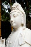 estátua budista do Bodhisattva de Guanyin, Bodhisattva de Avalokitesvara, deusa da mercê Imagens de Stock