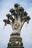 Estátua budista gigante Fotografia de Stock Royalty Free