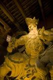 Estátua budista no templo budista leshan Fotos de Stock Royalty Free