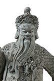 Estátua China em Emerald Buddha Banguecoque Tailândia Imagens de Stock