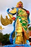 Estátua chinesa do deus imagem de stock
