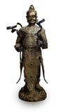 Estátua chinesa do deus fotografia de stock