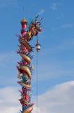 Estátua chinesa do dragão ilustração stock