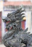 Estátua chinesa do dragão Fotos de Stock Royalty Free