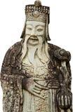 A estátua chinesa no templo em Banguecoque fotos de stock royalty free