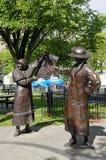 A estátua cinco famosa aka Imagens de Stock Royalty Free
