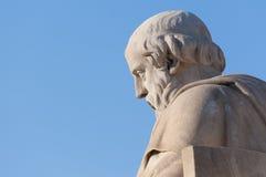 Estátua clássica de Plato Foto de Stock