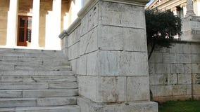 Estátua clássica do fim de Socrates acima vídeos de arquivo