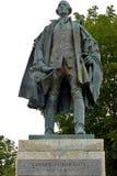 Estátua controversa de Edward Cornwallis Foto de Stock Royalty Free