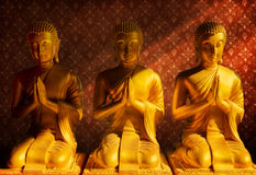 Estátua da Buda, Banguecoque Tailândia fotografia de stock