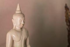 Estátua da Buda com fundo borrado imagem de stock royalty free
