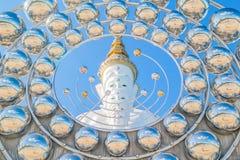 Estátua da Buda de cinco brancos Foto de Stock