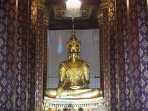 Estátua da Buda de napramen do wat Imagens de Stock