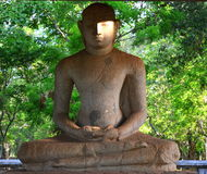 Estátua da Buda de Samadi, Sri Lanka Imagem de Stock