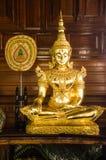 Estátua da Buda do ouro Foto de Stock
